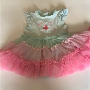 Little me baby girl tutu dress size 12 months